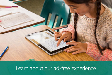 Learn about our ad-free experience