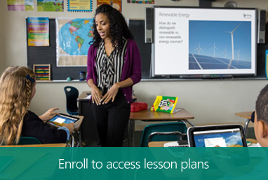 Enroll to access lesson plans